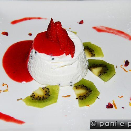 menu dolci panna cotta