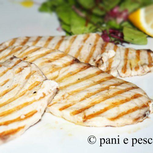 menu secondi pesce piastra