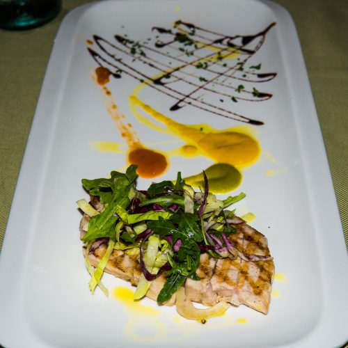 menu secondi pesce spada griglia