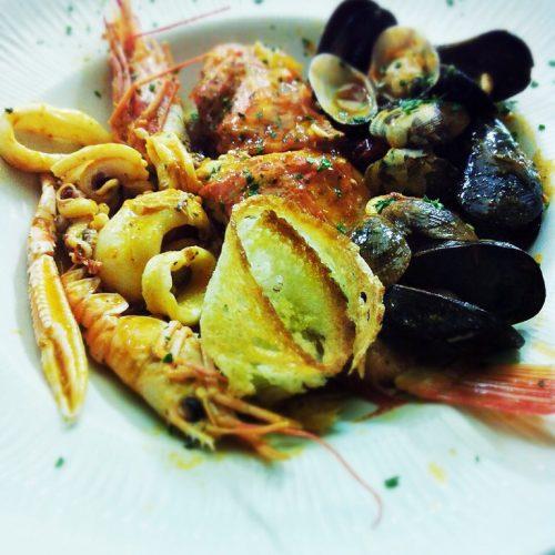 menu secondi zuppa di pesce