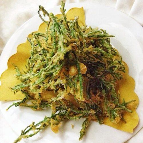 menu verdure pastella